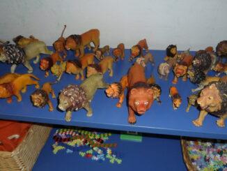 Legetøj i børnehaven - legetøjsdyr